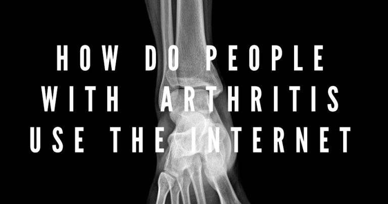 Social media research case study patients with arthritis