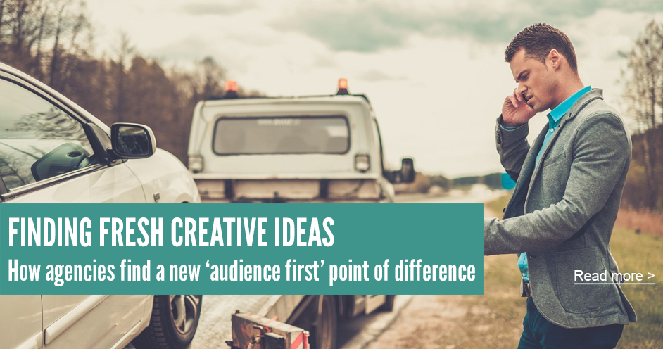 finding fresh creative ideas