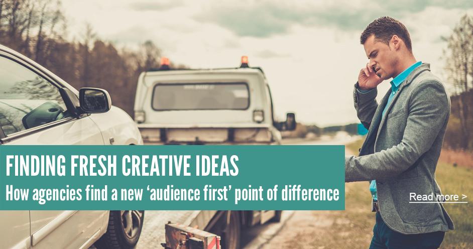 finding fresh creative ideas