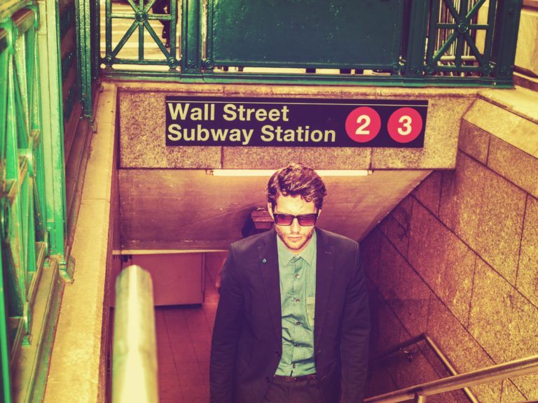 wall street subway