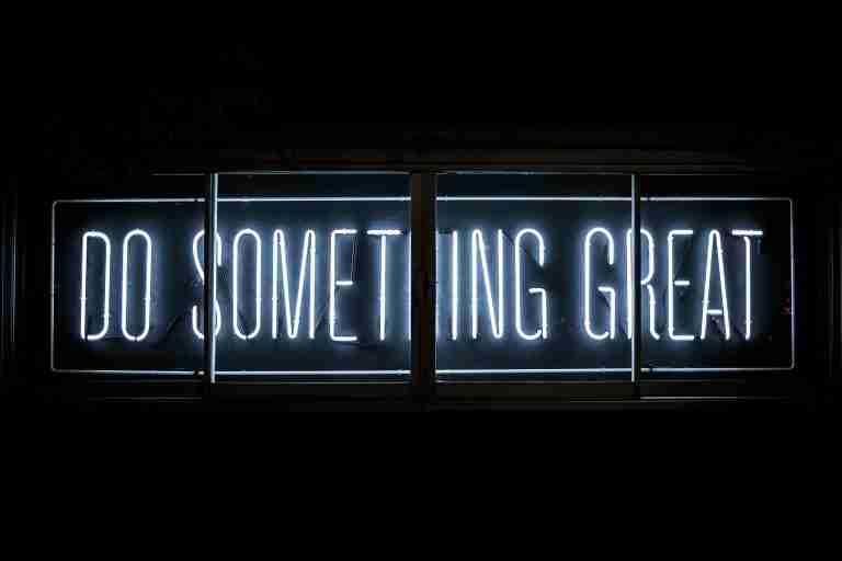 'Do something great' image